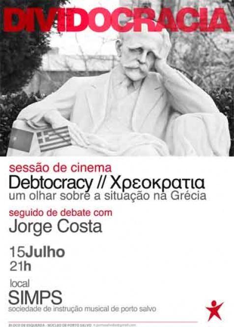 Oeiras: Filme e debate sobre a crise grega